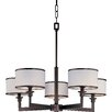 <strong>Wildon Home ®</strong> Inque 5 - Light Single - Tier Chandelier