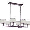<strong>Inque 6 - Light Single - Tier Chandelier</strong> by Wildon Home ®