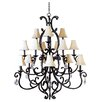 Wildon Home ® Hailee 15 - Light Multi - Tier Chandelier