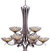 Wildon Home ® Sunata 9 - Light Multi - Tier Chandelier