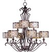 Mondrian 9 Light Chandelier