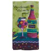 <strong>Kay Dee Designs</strong> Wine Is the Answer What was the Question Kitchen Terry Towel