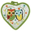 <strong>Kay Dee Designs</strong> Life's A Hoot Heart Shaped Pot Holder