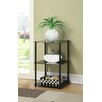 Convenience Concepts Midnight Three Tier End Table