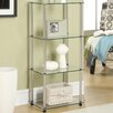 "<strong>Convenience Concepts</strong> 17.75"" x 38.75"" Classic Four Tier Tower"
