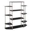 "Convenience Concepts Designs 2 Go Wall Unit 51.13"" Bookcase"