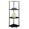 "Convenience Concepts Midnight Corner 46.5"" Bookcase"