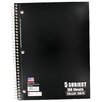 <strong>5 Subject College Ruled Notebook</strong> by Norcom Inc