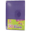 "<strong>5.5"" x 8.5"" Rainbow Foam Sheets</strong> by Fibre-craft Materials Corp"