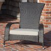 PatioSense Coconino Adirondack Chair with Cushion