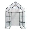 "Deluxe Walk-In 3 Tier 56"" W x 29"" D Portable Greenhouse"