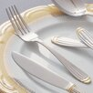 <strong>Parisian Gold Stainless Steel Salad Fork (Set of 4)</strong> by Ten Strawberry Street