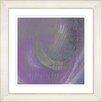 """Studio Works Modern """"Moon Shadow"""" by Zhee Singer Framed Giclee Print Fine Art in Purple"""