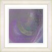 "Studio Works Modern ""Purple Moon Shadow"" by Zhee Singer Framed Fine Art Giclee Painting Print"