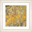 "<strong>Studio Works Modern</strong> ""Tulip Garden"" by Zhee Singer Framed Giclee Print Fine Art in Orange"