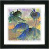 "Studio Works Modern ""Dusk Flamingo's"" by Zhee Singer Framed Fine Art Giclee Painting Print"