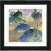 "Studio Works Modern ""Dusk Flamingo's"" by Zhee Singer Framed Giclee Print Fine Art"
