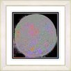 "Studio Works Modern ""Full Moon - Black"" by Zhee Singer Framed Fine Art Giclee Painting Print"