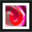 "Studio Works Modern ""Red Cherry Crush"" by Zhee Singer Framed Fine Art Giclee Painting Print"