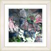 """Studio Works Modern """"Annapolis Floral Cloud Pink"""" by Zhee Singer Framed Fine Art Giclee Painting Print"""