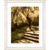 "Studio Works Modern ""Tree with Steps"" by Mia Singer Framed Fine Art Giclee Print"