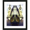 "Studio Works Modern ""Flatiron Building - Yellow"" by Mia Singer Framed Fine Art Giclee Photographic Painting Print"