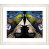 """<strong>""""Enigma - Gold"""" by Mia Singer Framed Fine Art Giclee Print</strong> by Studio Works Modern"""