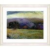 "Studio Works Modern ""Meadow After the Rain"" by Zhee Singer Framed Fine Art Giclee Print"