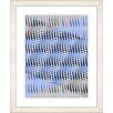 "Studio Works Modern ""Pastel Placidus - Blue"" by Zhee Singer Framed Fine Art Giclee Print"