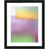 "Studio Works Modern ""Umfolozi - Yellow"" by Zhee Singer Framed Fine Art Giclee Painting Print"