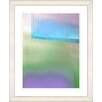 "<strong>Studio Works Modern</strong> ""Umfolozi - Blue"" by Zhee Singer Framed Fine Art Giclee Print"