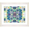 "<strong>""Tide of Time Floral - Sea Foam"" by Zhee Singer Framed Fine Art Gic...</strong> by Studio Works Modern"