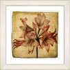 Studio Works Modern Vintage Botanical No. 33A  by Zhee Singer Framed Giclee Print Fine Wall Art