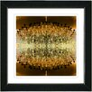 "Studio Works Modern ""Embracing Chandeliers"" by Zhee Singer Framed Fine Art Giclee Painting Print"