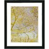 "<strong>""Gold Flower Branches"" by Zhee Singer Framed Graphic Art</strong> by Studio Works Modern"