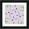 "Studio Works Modern ""Snowflake Symmetry"" by Zhee Singer Framed Graphic Art"