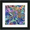 "Studio Works Modern ""Tangle"" by Zhee Singer Framed Graphic Art"