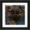 "Studio Works Modern ""Gargoyle"" by Zhee Singer Framed Fine Art Giclee Painting Print"