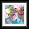 "<strong>Studio Works Modern</strong> ""Pastel Party Flower"" by Zhee Singer Framed Graphic Art"