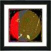 "Studio Works Modern ""Moment of Conjunction"" by Zhee Singer Framed Fine Art Giclee Painting Print"