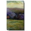"Studio Works Modern ""Sonoma Meadow III"" Gallery Wrapped by Zhee Singer Painting Print on Canvas"
