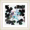 "Studio Works Modern ""Summer Walk Flowers"" by Zhee Singer Framed Fine Art Giclee Painting Print"