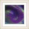 "Studio Works Modern ""Purple Tosca"" by Zhee Singer Framed Painting Print"