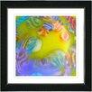 """Studio Works Modern """"Pastilles"""" by Zhee Singer Framed Fine Art Giclee Painting Print"""