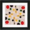 "Studio Works Modern ""Origami Star"" by Zhee Singer Framed Fine Art Giclee Painting Print"