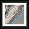 "Studio Works Modern ""Beige Shaft of Wheat"" by Zhee Singer Framed Fine Art Giclee Painting Print"