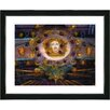 "Studio Works Modern ""Honey Yellow Cameo"" by Zhee Singer Framed Fine Art Giclee Painting Print"