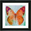 "Studio Works Modern ""Butterfly"" by Zhee Singer Framed Fine Art Giclee Painting Print"