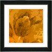 "Studio Works Modern ""Tulip - Terra Cotta"" by Zhee Singer Framed Fine Art Giclee Painting Print"