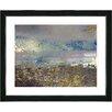 "Studio Works Modern ""Sea Shore"" by Zhee Singer Framed Fine Art Giclee Painting Print"